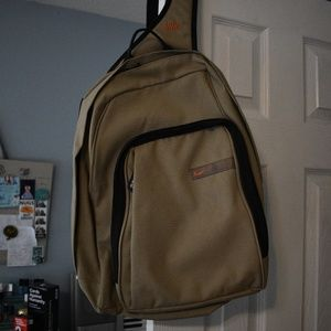 Nike Beige Computer Backpack